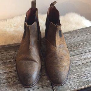 e841dfca4d3 Allen Edmonds Ashbury boot teak distressed leather